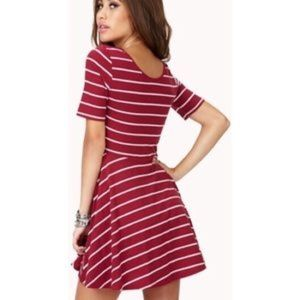 Forever 21 Scoop Neck Skater Dress